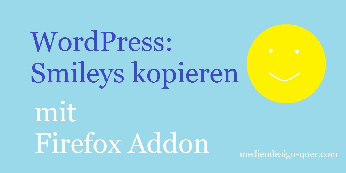 wordpress-smileys-kopieren-mit-firefox