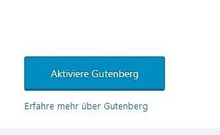 aktiviere-gutenberg