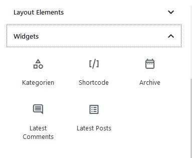 widgets-blocks
