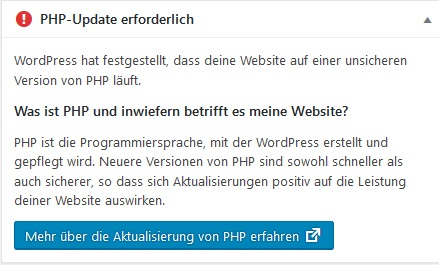 php-update