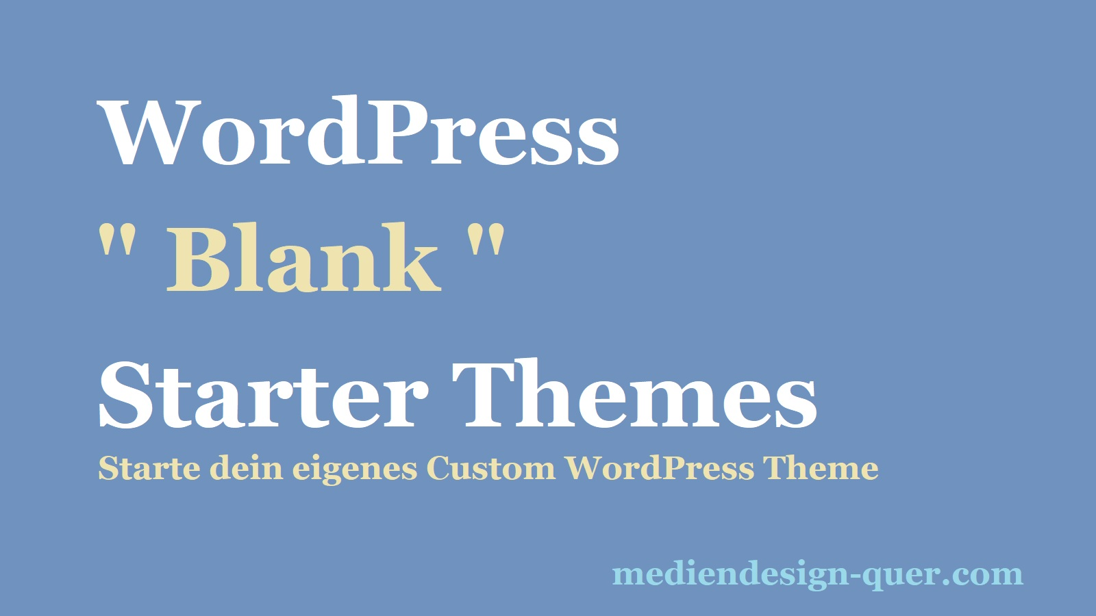 wordpress-starter-theme
