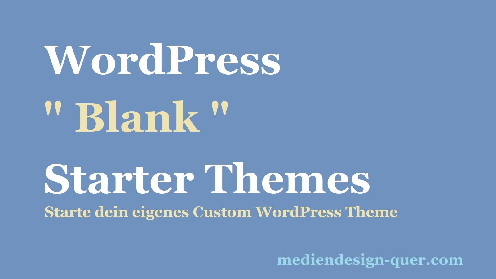 wordpress-starter-theme