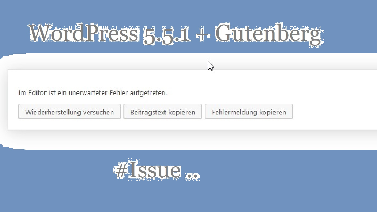 wordpress-gutenberg-issue-01