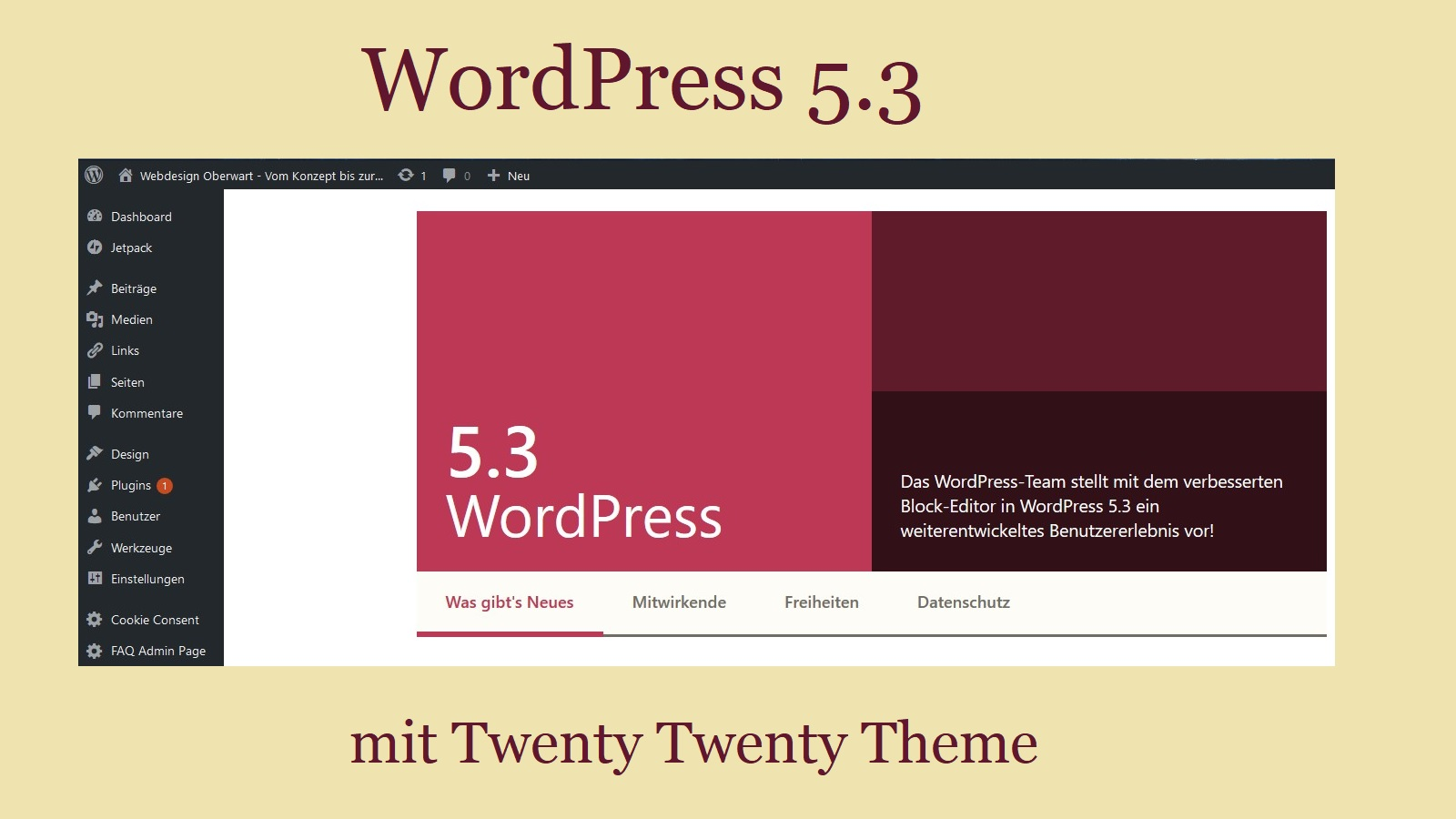 wordpress-5.3-mit-twenty-twenty