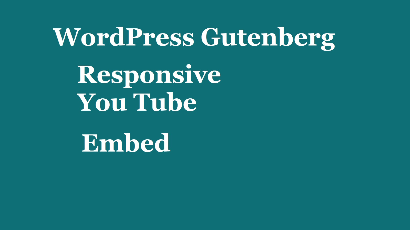 responsive-you-tube-embed