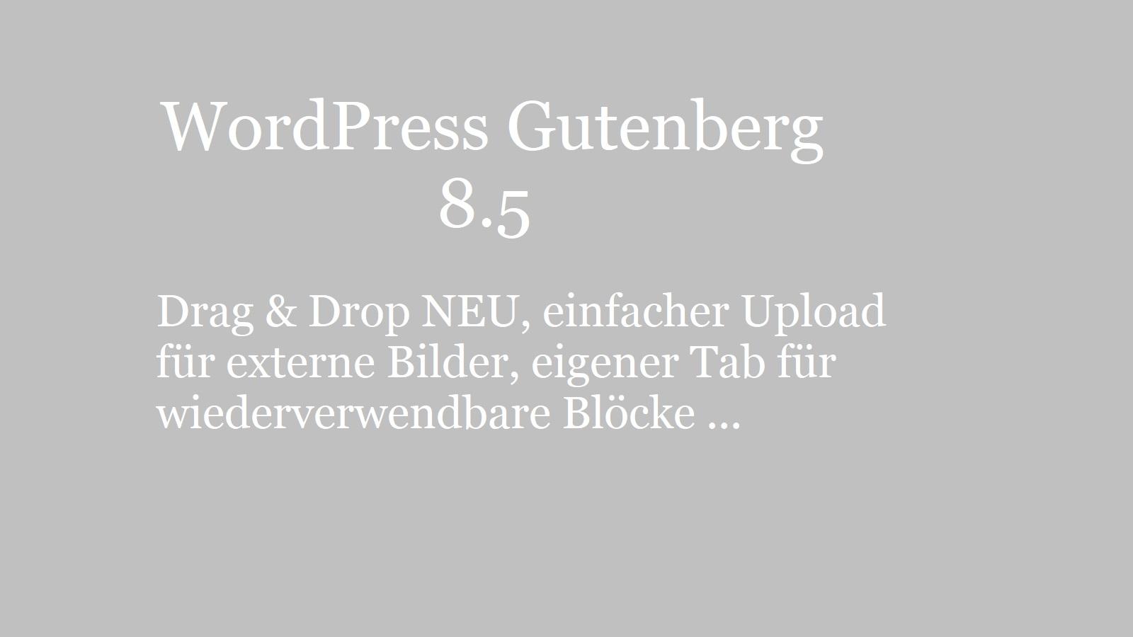 wordpress-gutenberg-8.5