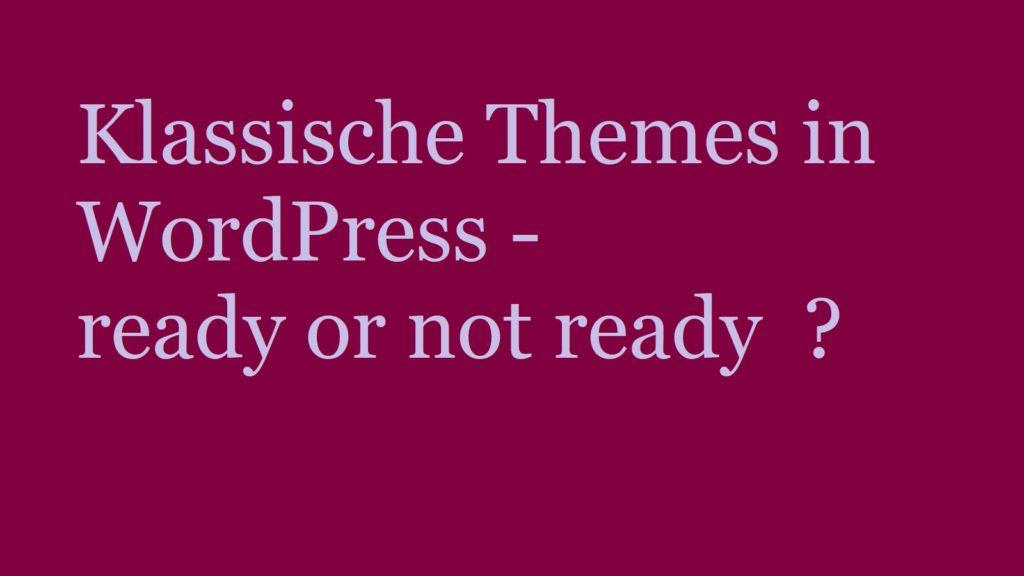 klassische-themes-wordpress